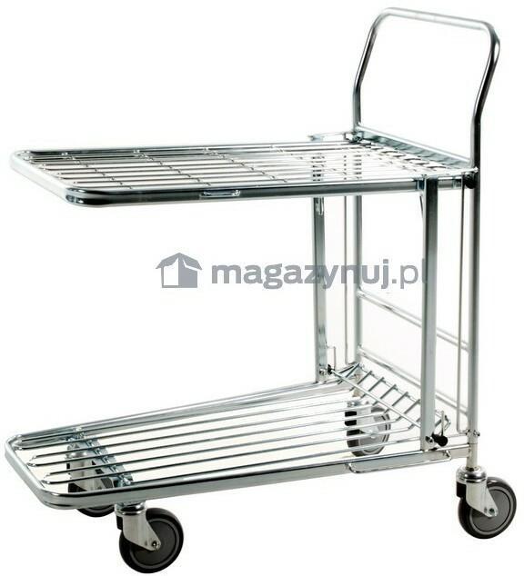 Kongamek Wózek sklepowy. Wym: 860x530x1010mm