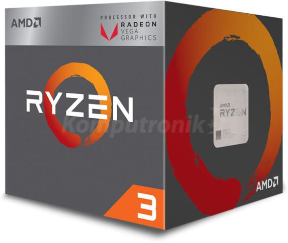 AMD Ryzen 3 2200G 3,7 GHz