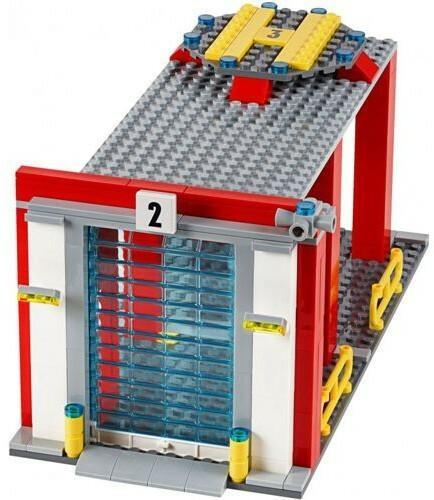 LEGO City Remiza strażacka 60110
