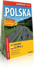 ExpressMap Polska - kieszonkowa mapa samochodowa w skali 1:1 400 000 - Expressmap