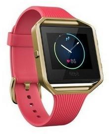 Fitbit Blaze S Różowo-złoty