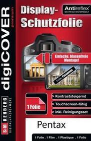 digiCOVER DigiCover zestaw akcesoriów do ochrony wyświetlacza Pentax pozbyć-KP N4390