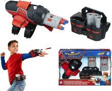 Hasbro B9702 Nerf Spiderman Wyrzutnia sieci Rapid Reload Blaster B9702