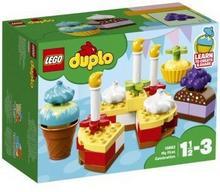 LEGO Klocki DUPLO My First Moje pierwsze przyjęcie 10862