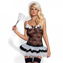 Obsessive Kostium pokojówka - Housemaid Costume S/M