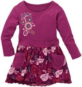 Bonprix Sukienka fioletowy