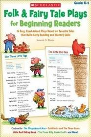 Scholastic Teaching Resources Folk & Fairy Tale Plays for Beginning Readers