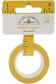Doodlebug School Washi Tape 8MM, 12yards-Tape Measure SCHWT-4553