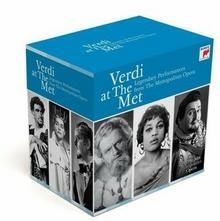 Verdi At The Met Legendary Performances From The Metropolitan Opera CD) Sony Music