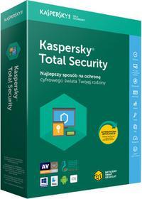 Kaspersky Total Security multi-device 3PC/1Rok Odnowienie