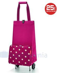 Reisenthel Wózek Foldabletrolley ruby dots - fioletowy