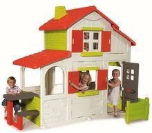 Smoby Domek dwupiętrowy Duplex z dzwonkiem Powłoka UV 320023