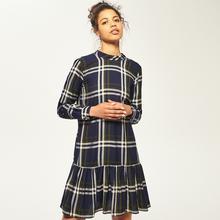 RESERVED Sukienka w kratkę - Wielobarwn