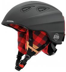Alpina Kask narciarski unisex Grap 2.0 Le Black Lumberjack Matt 54 57