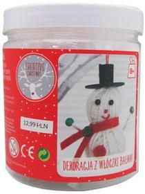 Panon Limited Creative Christmas, ozdoba z włóczki, bałwan