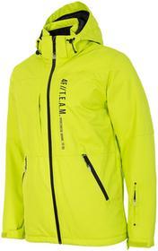 4F Kurtka narciarska męska KUMN552Z limonkowy neon [D4Z17-KUMN552] KUMN552 limonkowy neon