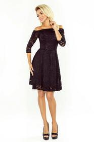 Sukienka LISA czarna koktajlowa