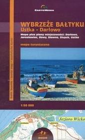 Cartomedia  Wybrzeże Bałtyku Ustka Darłowo pol-ang