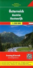 Freytag&berndt Austria mapa drogowa 1:500 000 - Freytag & Berndt