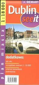 Demart  Dublin 1:18 000 plan miasta
