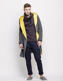 moxos Płaszcz jeansowy kapturem