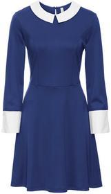 Bonprix Sukienka kobaltowo-biały