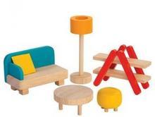 Plan Toys Mebelki dla lalek Salon PLTO-7347 8854740073471