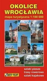 Wrocław okolice mapa 1:100 000 Eko-Graf - EkoGraf