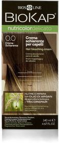 Bios Line S.P.A. BIOKAP Nutricolor Delicato, krem rozjaśniający do włosów, 0.0 140ml