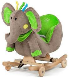 KinderKraft 4Kraft bujak z siedziskiem Słoń na biegunach