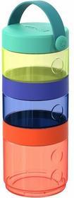 Skip Hop Zestaw pojemników na żywność Grab&Go - 3 pojemniki zamykane, idealne na spacer, 293300