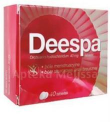 Polpharma DEESPA 40 mg 40 tabl 4879804