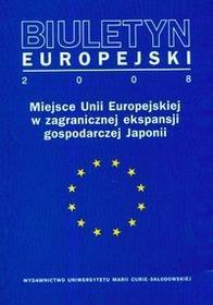 UMCS Wydawnictwo Uniwersytetu Marii Curie-Skłodows Pasierbiak Paweł Biuletyn Europejski 2008