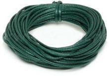 Griffin Griffin WAXED COTTON CORD Bawełniany sznurek woskowany 0,8mm 5m - Green