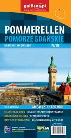 Pomorze Gdańskie. Mapa 1:160 000 (wersja polsko-niemiecka)