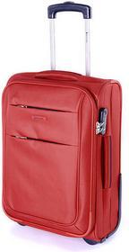 Puccini Mała kabinowa walizka CAMERINO EM50307C 3 Czerwona - czerwony