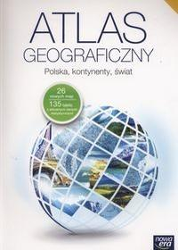 Nowa Era praca zbiorowa Atlas geograficzny Polska kontynenty świat