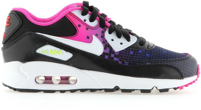 Nike Air Max 90 Premium Mesh GS 724875 002 wielokolorowy
