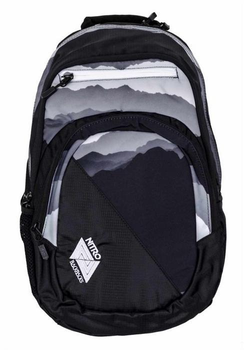 0bdabcb4588df Nitro plecak Stash Mountains Blk Wht 042) – ceny