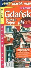 Gdańsk, Gdynia, Sopot - plan miasta (skala 1:26 000) - Demart