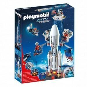 Playmobil Rakieta kosmiczna ze stacją bazow 6195