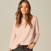 MOHITO Sweter z wycięciem na plecach - Różowy