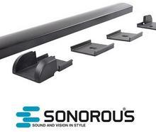 Sonorous Listwa maskująca do kabli CC50 Sonorous 50cm : Kolor - Czarny