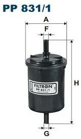 FILTRON PP 831/1 FILTR PALIWA