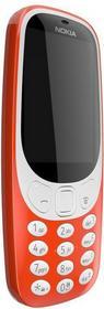 Telefon Nokia 3310 Dual SIM czerwona