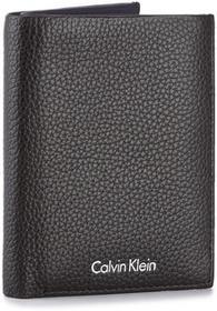 Calvin Klein Black Label Duży Portfel Męski BLACK LABEL - Pebble Leather Ns 8C K50K503727 001