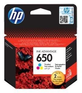 HP Nr 650 CZ102AE Orginalny kolor