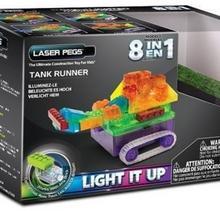 Laser Pegs 8 in 1 Tank Runner RN1330B