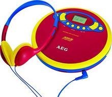 AEG CDP 4228 Discman, przenośny odtwarzacz CD i MP3 CDP 42281