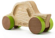 Super autko z imieniem dziecka, idealny prezent